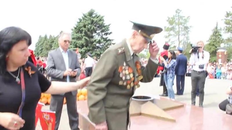 В парке Победы в Кущёвской 9 Мая 2018