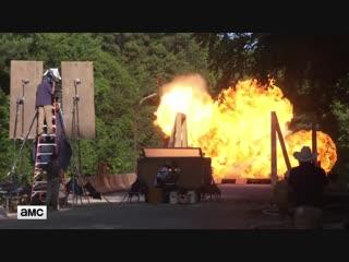 The Walking Dead S09E5 Featurette - Rick Grimes Last Stunt