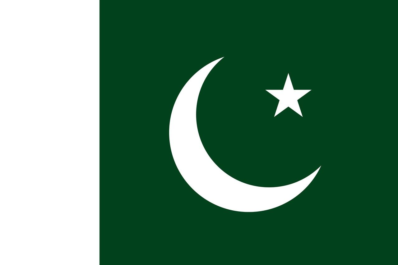 Флаг Пакистан