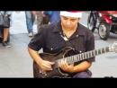 Hôtel California, par DAMIAN SALAZAR un extraordinaire jeune guitariste de rue à