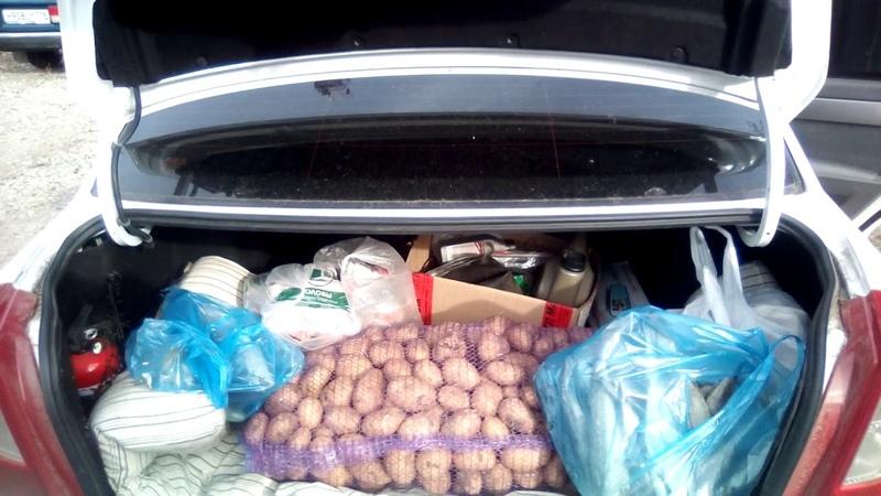 Помощь приюту кот и пес повёз продукты.Зеленодольск.Help shelter cat and dog took food