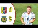 Venezuela vs Argentina 0-3 Resúmen Y Goles | Sudamericano Sub 20