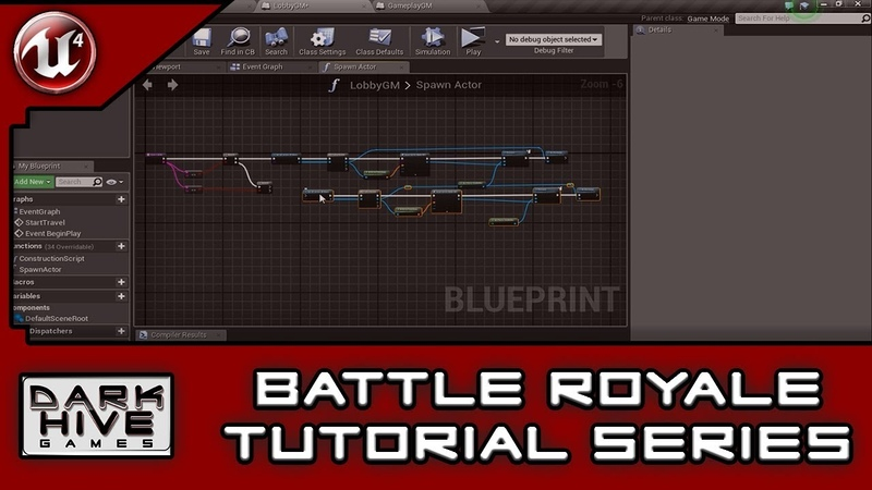 Battle Royale Survival Tutorial Series - Unreal Engine 4 - [25] Character Spawn