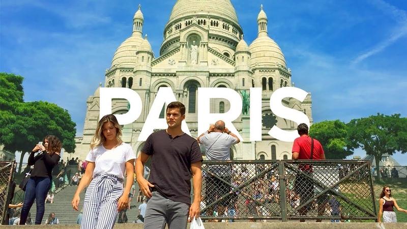 PARIS WALK | Sacré-Coeur Basilica in Montmartre | France