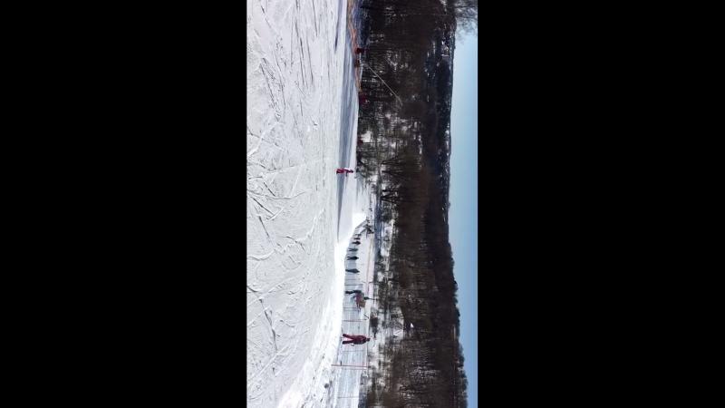 Я каталась на горных лыжах !!🙂