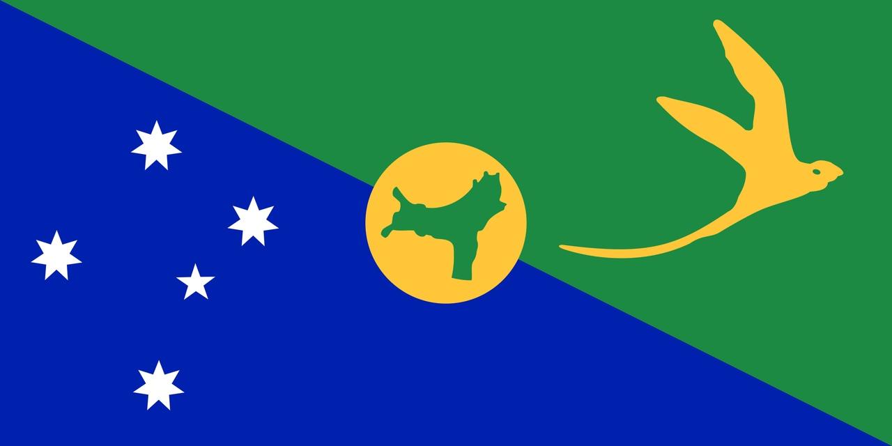 Флаг Остров Рождества