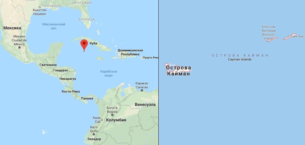 Острова Кайман