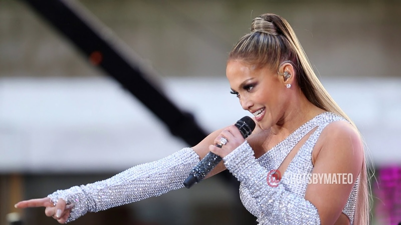 J. Lo - Get On The Floor, Live on The Today Show