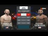 Donald Cerrone vs Leon Edwards