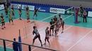 Волейбол Нападающий удар Команды Ярославич Ярославль и Югра Самотлор Нижневартовск