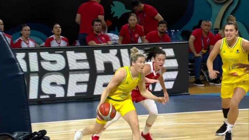 Лучшие моменты с женского чемпионата мира по баскетболу за 25 сентября