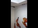 наша работа устоновили потолок со спайкой и тримя фото печатями продолжение в следуюшем видео
