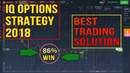 IQ OPTION STRATEGY - My New 100% Method 2018 - Iq Option Trading