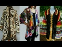 Crochet long coats / sweaters /uppers designs and styles latest beautiful collection