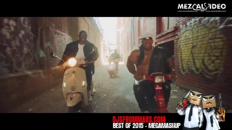 DJS FROM MARS BEST OF 2015 MEGAMASHUP 40 SONGS IN 3 30 hd720