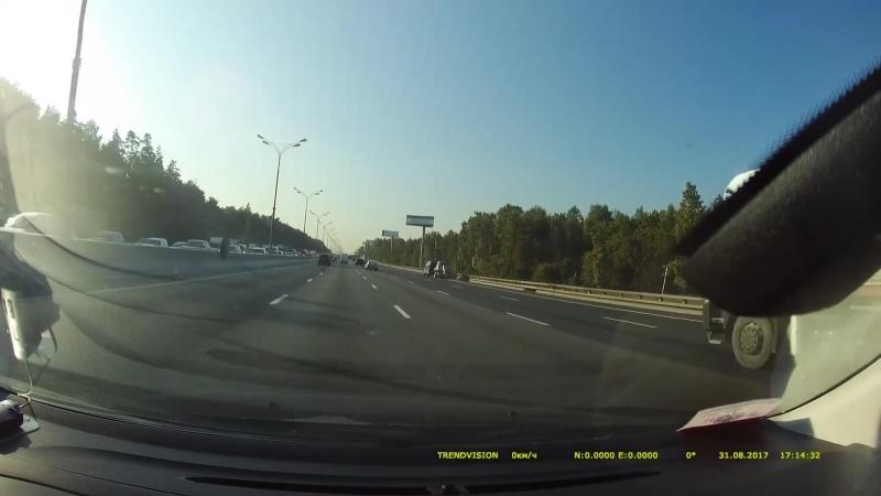 Убегающее колесо вернулось к хозяину