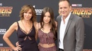 "Jennifer Grey Stella Gregg Clark Gregg Avengers Infinity War"" World Premiere Purple Carpet"