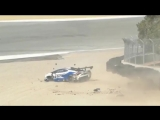 Sheena Monk Crashes Lamborghini Super Trofeo at Laguna Seca