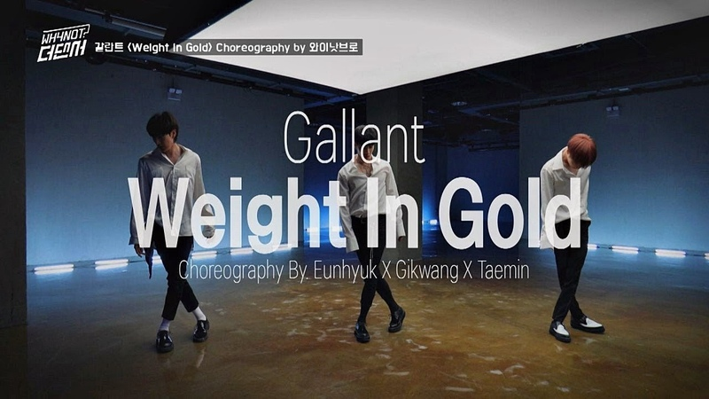 와이낫브로의 최종 안무 영상! 갈란트 Weight In Gold♪ WHYNOT-더 댄서(The dancer) 8회