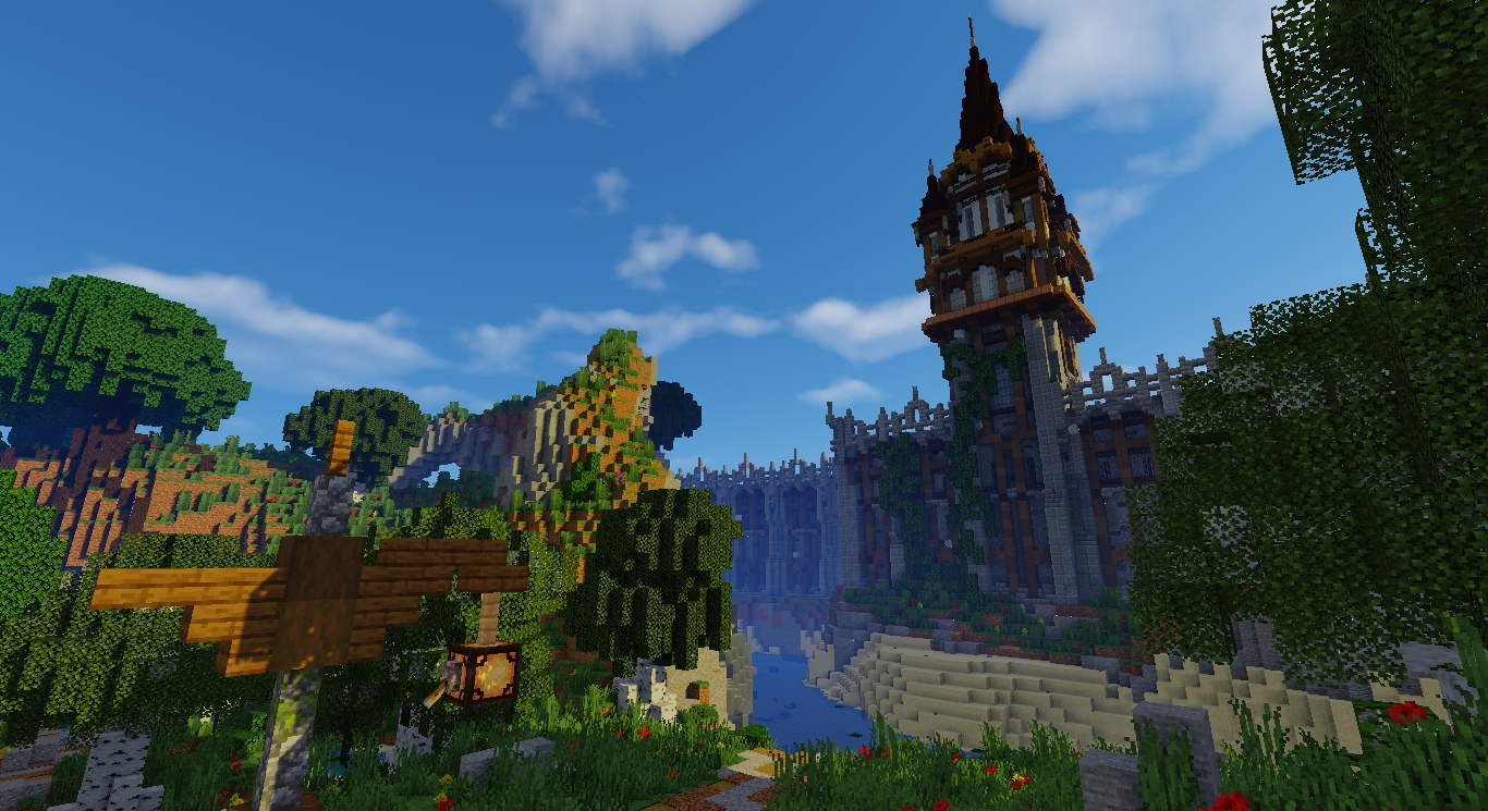 Tower of Weiderwood Minecraft Map