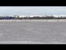 Ледоход в Архангельске