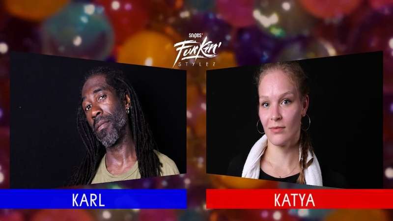 SNIPES FUNKIN STYLEZ 2018 - HOUSE HALF FINAL - KARL vs. KATYA