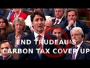 End Trudeau's Carbon Tax   Andrew Scheer