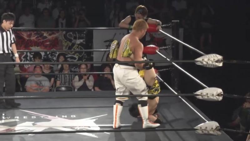 Takato Nakano, Akiyori Takizawa vs. Takumi Tsukamoto, Yasu Urano (BASARA - Vajra 72 ~ Hitori Tenka)
