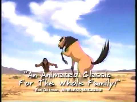 Spirit Stallion of the Cimarron Dreamworks DVD Commercial 2002