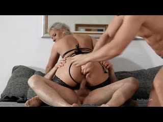 Katetruu first double penetration with tinder guy (sexwife, gangbang, dp, slut, cum, мжм)