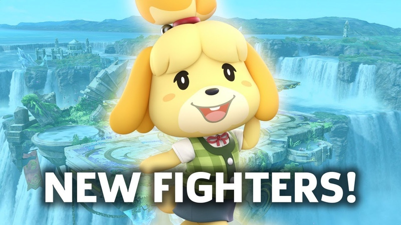 Super Smash Bros. Ultimate Trying Out The New Characters