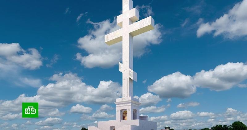 Над Красноярском возвысится огромный поклонный крест