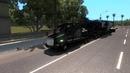 На каплях топлива.Перевозим фрезерную машину из DLC Heavy Cargo Pack.