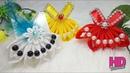 DIY - Bros Baju    Tutorial Simple Kanzashi Flower    Satin Ribbon Flower    HD Tutorial