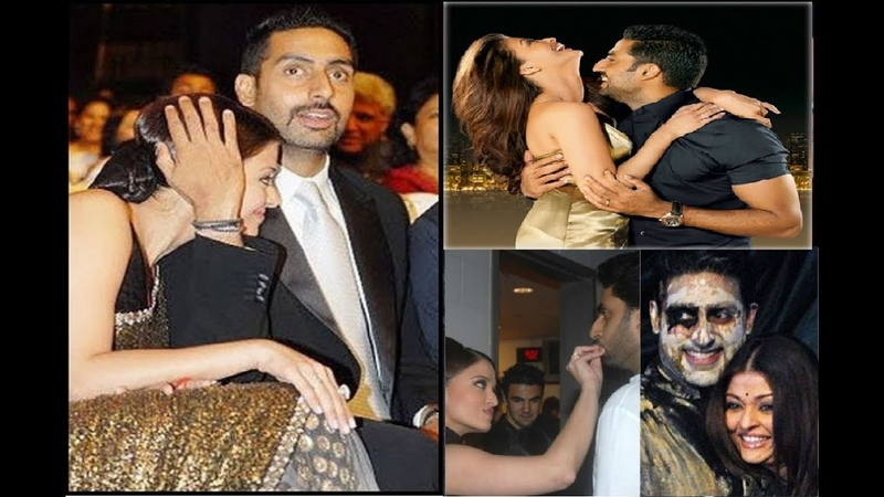 Cutest Moments Of Abhishek Bachchan And Aishwarya Rai