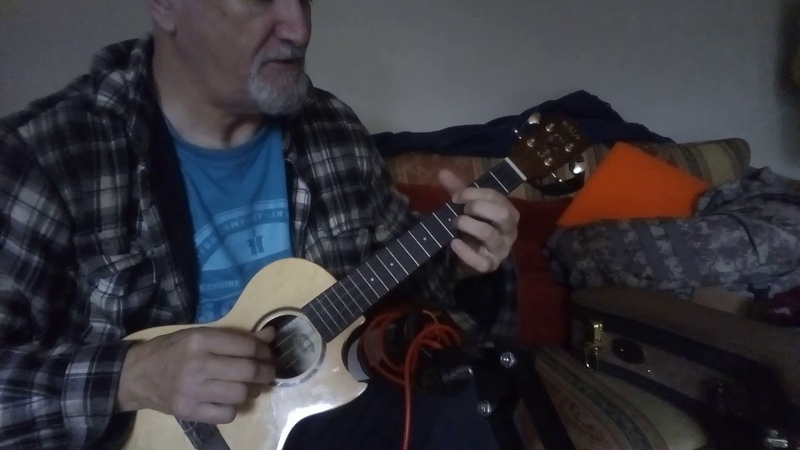Listen to the falling rain Ukulele fingerstyle