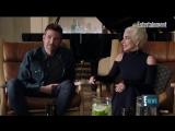 Интервью Леди Гаги и Брэдли Купера для «Entertainment Weekly» (репортаж от «E! News»)