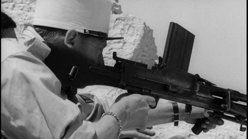 Непокоренный (1964) Бой между французами и алжирскими повстанцами