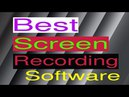 Best Screen Recording and Capturing Software for YouTube 2018