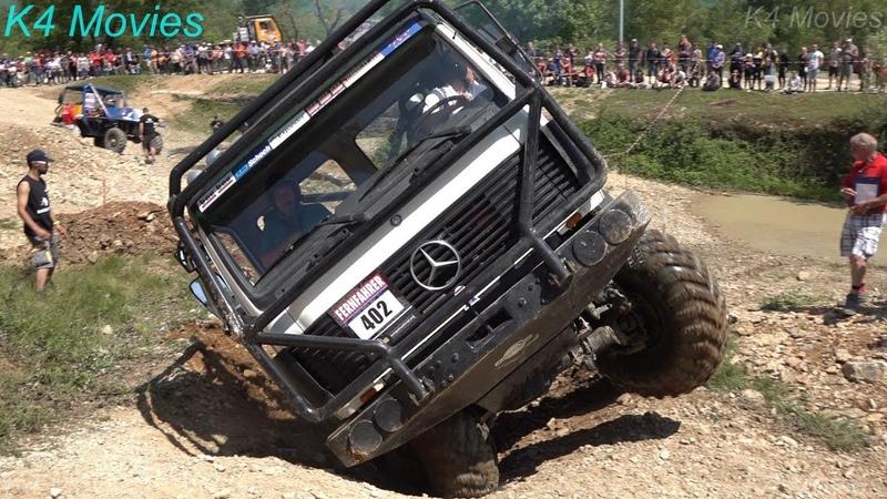 Mercedes Benz Truck, 8x8 | Europe Truck Trial | Montalieu-Vercieu | France | Participant no. 402