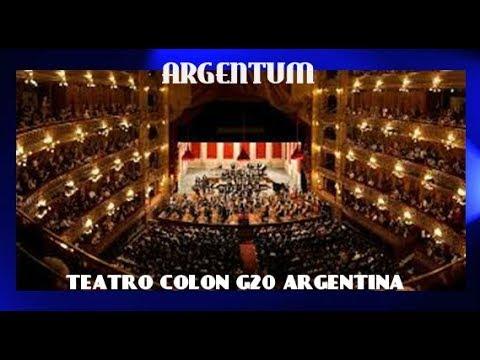 ARGENTUM GALA TEATRO COLON G20 G20Argentina CumbreG20 COMPLETO 2018