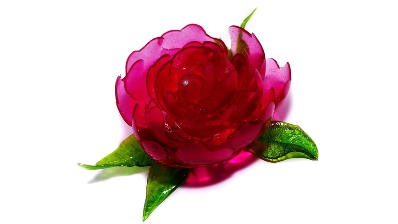 Рубрика «Plaisi'Дельник» | 15 - цветок из изомальта