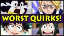 Top 10 Weakest Quirks in My Hero Academia! (Boku no Hero Academia Worst Quirk)