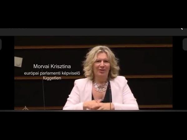 A brüsszeli eurokraták bort isznak és vizet prédikálnak (Morvai felszólalása Brüsszelben)