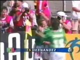 Луис Эрнандес (Мексика) - мяч в в ворота сборной Германии на чемпионате мира 1998 года