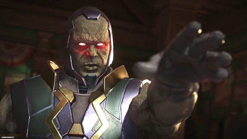 Injustice 2- Darkseid Vs All Characters - All Intro-Interaction Dialogues Clash Quotes