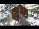Дом на дереве Жизнь в лесу вдали от цивилизации