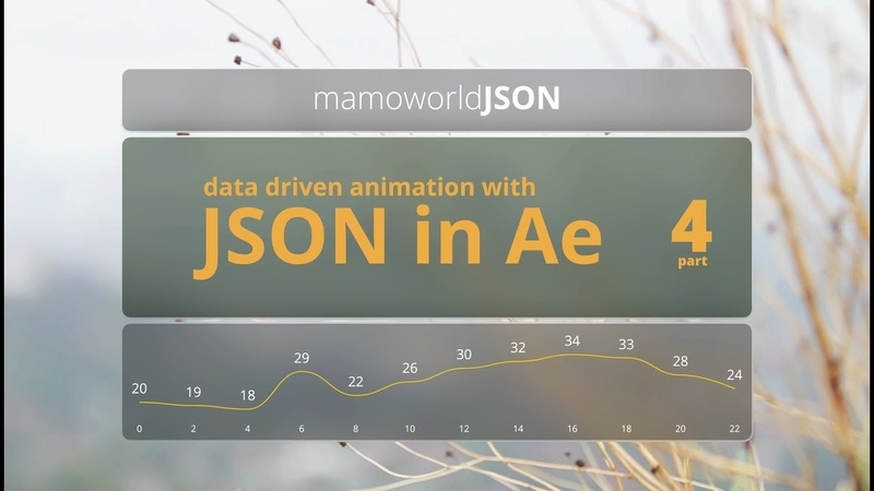 Data-Driven Animation with JSON in After Effects - Part 4: Customizing Links
