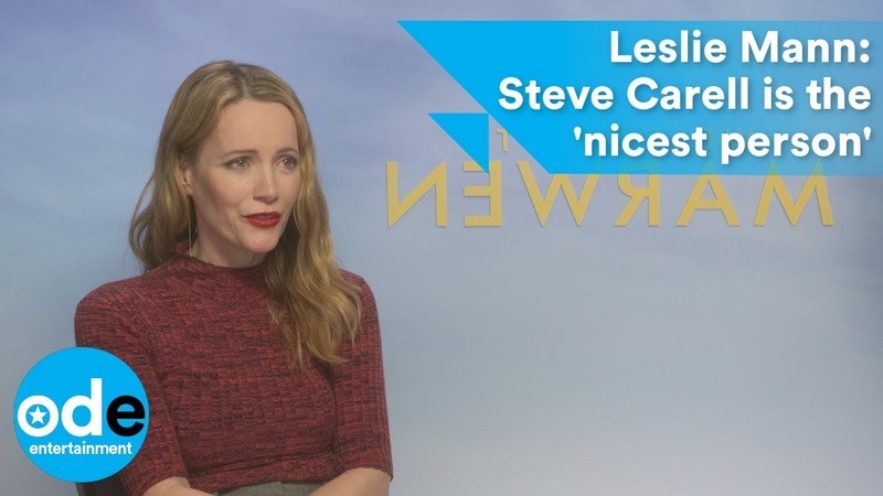 Leslie Mann Steve Carell is the nicest person
