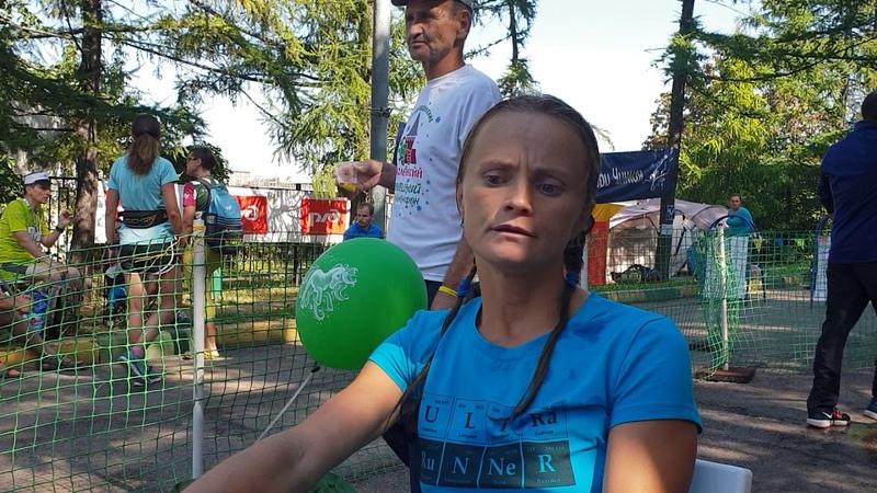 Ирина Масанова -247,091 /рекорд России/ победительница Кубка России-2018 по бегу 24 часа